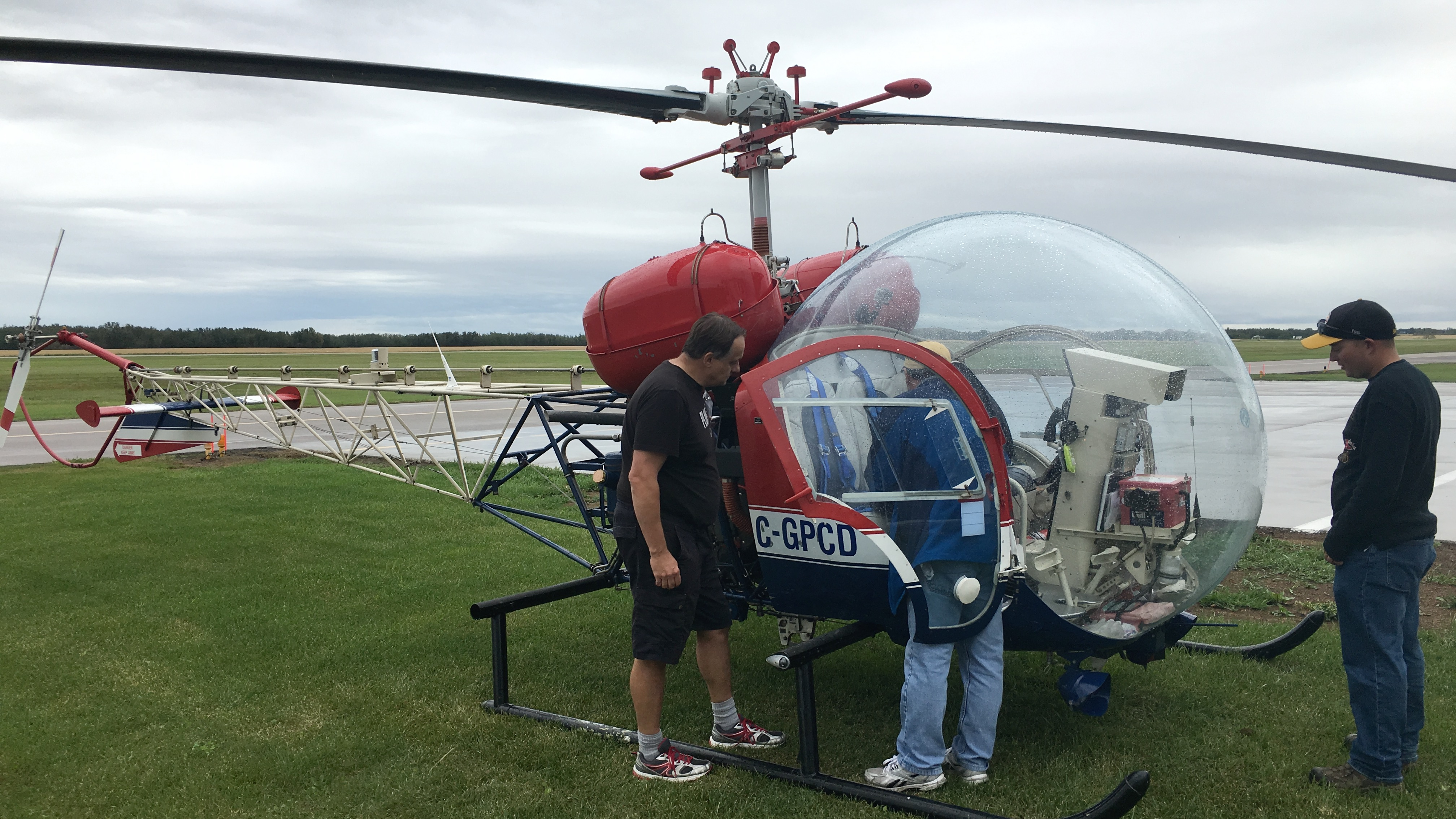 COPA Flight 176 Helicopter Ride