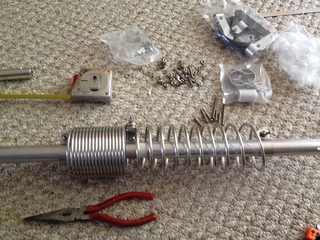 40/80m Coil Assembly